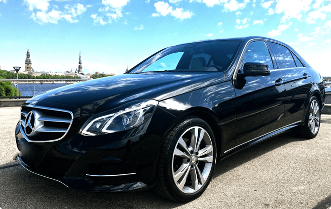 Tallinn Business Sedans - Mercedes Benz E Class - Front View