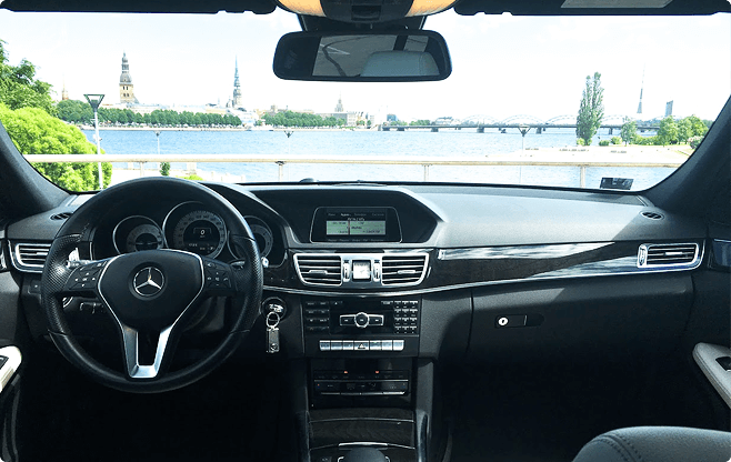 Tallinn Business Sedans - Mercedes Benz E Class - Interior