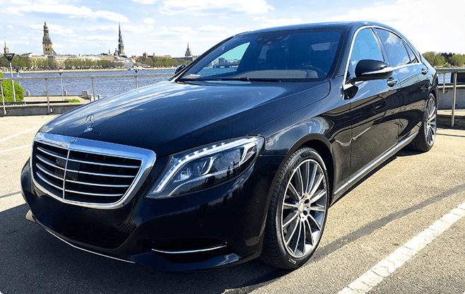 Tallinn Luxury Sedans - Mercedes Benz S Class New - Front View