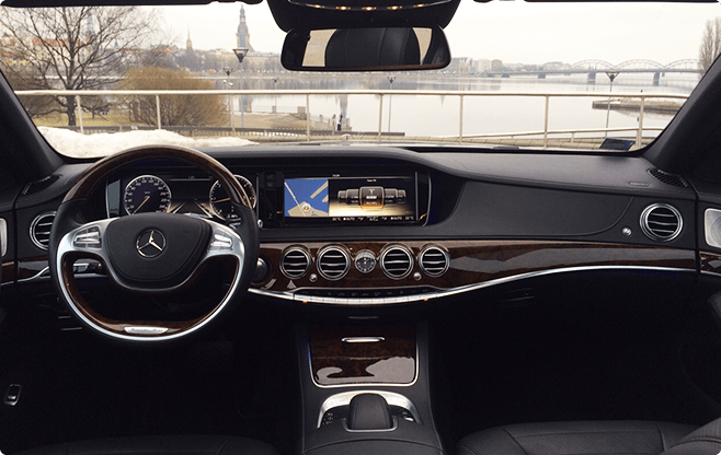Tallinn Luxury Sedans - Mercedes Benz S Class New - Interior