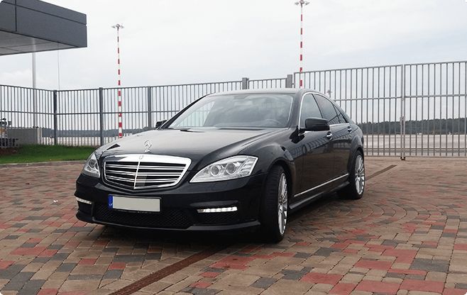 Tallinn Business Sedans - Mercedes Benz S Class - Front View