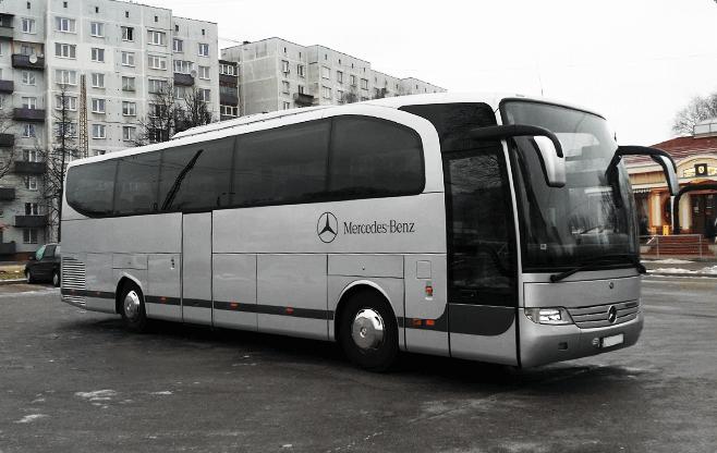 tallinn limo service - buses - mercedes benz travego